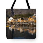 Fishermen's Village Sakrisoy  Tote Bag