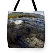 Fisheye Seascape Tote Bag