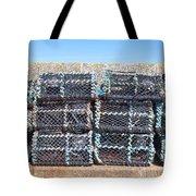 Fishing Baskets Tote Bag by Tom Gowanlock