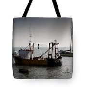 Fishing Boat Essex Tote Bag