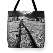 Fishing Boat Graveyard 6 Tote Bag by Meirion Matthias