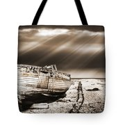 Fishing Boat Graveyard 9 Tote Bag