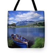 Fishing Boat On Upper Lake, Killarney Tote Bag