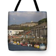 Fishing Boats Hayle Harbour Tote Bag
