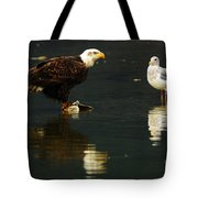 Fishing Buddies Tote Bag