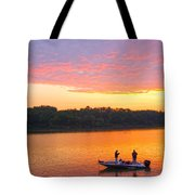 Fishing For Gold Tote Bag