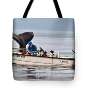 Fishing For Whales Tote Bag