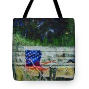 Fishing On Memorial Day Tote Bag