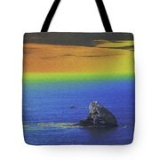 Fishing On The Ocean Tote Bag
