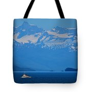 Fishing The Inside Passage Tote Bag