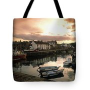 Fishing Village In Ireland Tote Bag