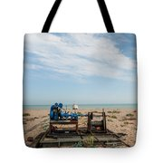 Fishing Winches Tote Bag