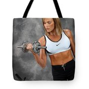 Fitness 5 Tote Bag