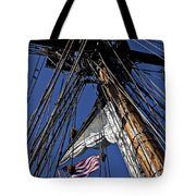 Flag In The Rigging Tote Bag