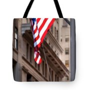 Flag On Broadway Tote Bag