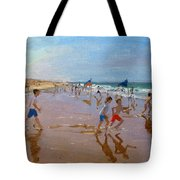 Flags And Reflections Tote Bag