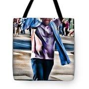 Flamboyant Fan Tote Bag