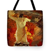 Flamenco Series No 2 Tote Bag