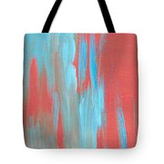 Flames Of Ice Tote Bag