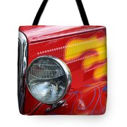 Flaming Hot Rod 2 Tote Bag