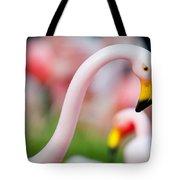 Flamingo 5 Tote Bag