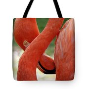Flamingo Eight Tote Bag