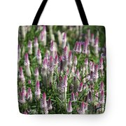 Flamingo Feather Flowers Tote Bag