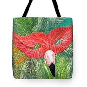 Flamingo Mask 2 Tote Bag