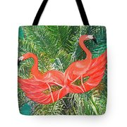 Flamingo Mask 4 Tote Bag