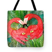 Flamingo Mask 7 Tote Bag