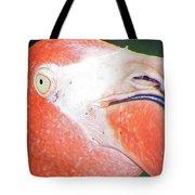 Flamingo Nose Tote Bag