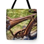 Flat  Tote Bag by Michelle Calkins