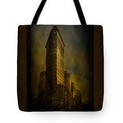 Flatiron Building...my View..revised Tote Bag