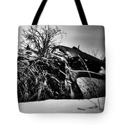 Flee Of Debris Two Tote Bag