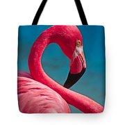 Flexible Flamingo Tote Bag