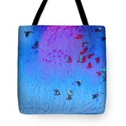 Flight Along The River Tote Bag