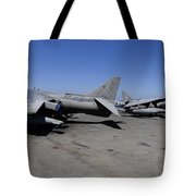 Flight Deck Personnel Reposition Av-8b Tote Bag
