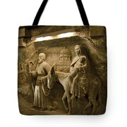 Flight Into Egypt - Wieliczka Salt Mine Tote Bag
