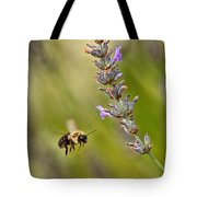 Flight Of The Bumble Tote Bag