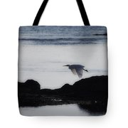 Flight Of The Egret V2 Tote Bag