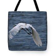 Flight Over The Lake 3 Tote Bag