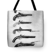 Flintlock Pistols Tote Bag