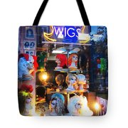 Flip Your Wig Tote Bag