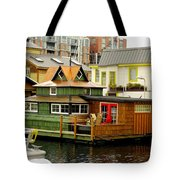 Float Home Fishermans Wharf Tote Bag
