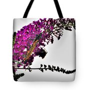Float Like A Butterfly Sting Like A Bee Tote Bag