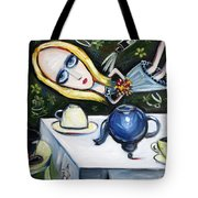 Floating Above It All Tote Bag