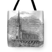 Floating Church, 1849 Tote Bag