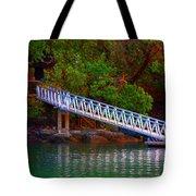 Floating Dock Tote Bag
