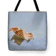 Floating Down Lifes Path Tote Bag