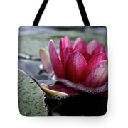 Floating Floral Tote Bag